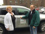 Volunteer Scott Hollander Drives a Passenger